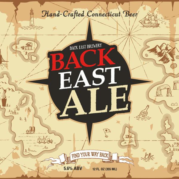 Back East Ale beer Label Full Size