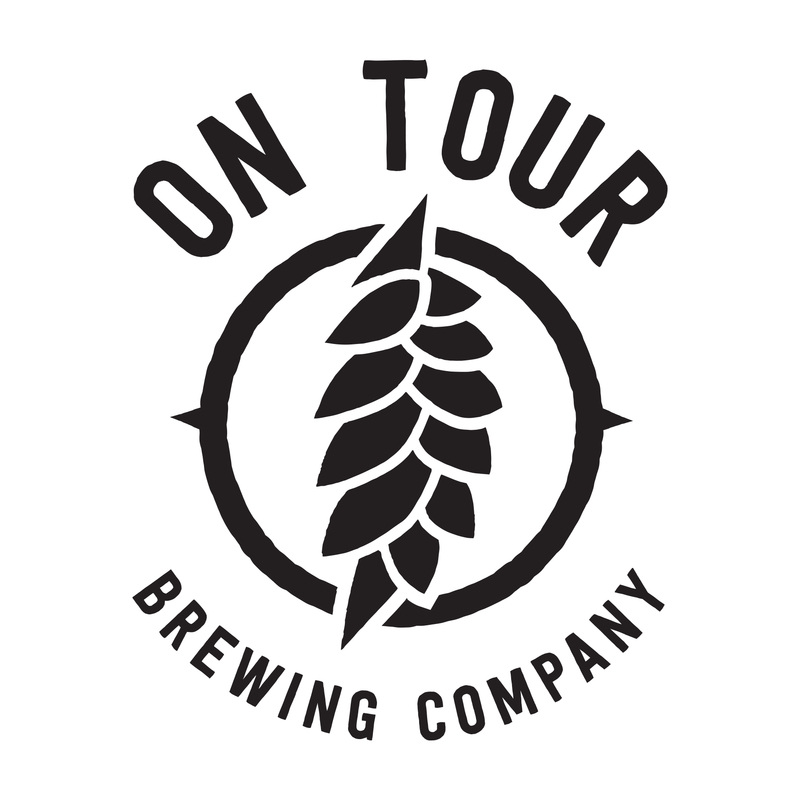 On Tour Cities beer Label Full Size