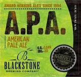Blackstone American Pale Ale Beer