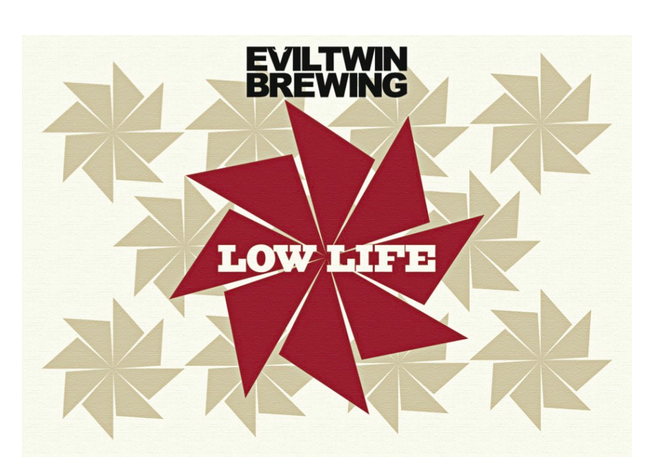 Evil Twin Low Life Pilsner beer Label Full Size