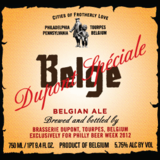 Brasserie Dupont / Iron Hill Special Belge beer