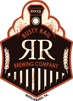 Rusty Rail Imperial Citrus Ale side track # 23 beer Label Full Size