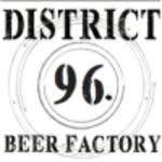 District 96 The Wit House beer Label Full Size