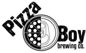 Pizza Boy Flying Laserbeams beer Label Full Size