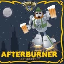 Metropolitan Afterburner 2017 beer Label Full Size