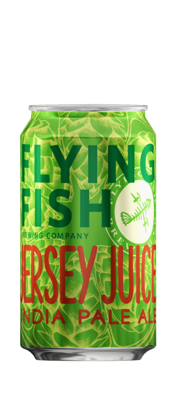 Flying Fish Jersey Juice beer Label Full Size