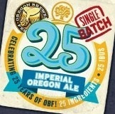 Oakshire 25 Imperial Oregon Ale beer Label Full Size