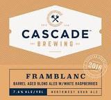 Cascade Framblanc 2016 Beer