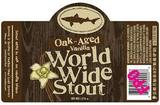 Dogfish Head Oaked Aged Vanillia World Wide Stout beer