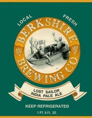 Berkshire Lost Sailor IPA beer Label Full Size