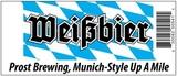Prost Weißbier beer