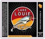 Lake Louie Pilsner beer