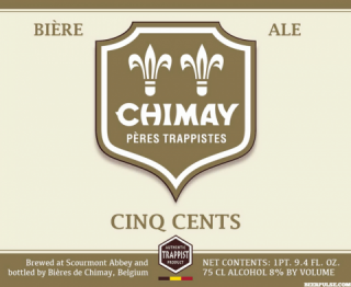 Chimay Cinq Cents Triple / Tripel Beer