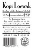 De Molen Kopi Loewak Coffee Stout beer