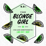Long Live The Blonde Girl Beer