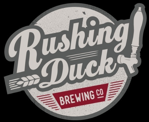 Rushing Duck War Elephant beer Label Full Size
