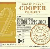 Goose Island Cooper's Project No. 2 Barrel-Aged Blonde Dopplebock Beer