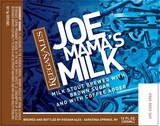 Keegan Ales Joe Mama's Milk Stout Nitro beer