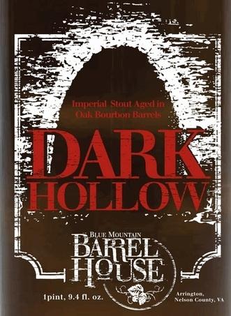 Blue Mountain Dark Hollow Stout Beer