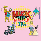 Hoof Hearted Musk of the Minotaur IPA beer