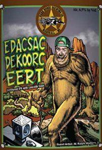 Dark Horse Edacsac Dekoorc Eert beer Label Full Size
