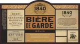 1840 Beire de Garde: Bruin Beer