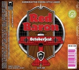 Bristol Red Baron Octoberfest beer