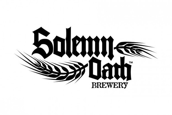 Solemn Oath Butterfly Flashmob beer Label Full Size