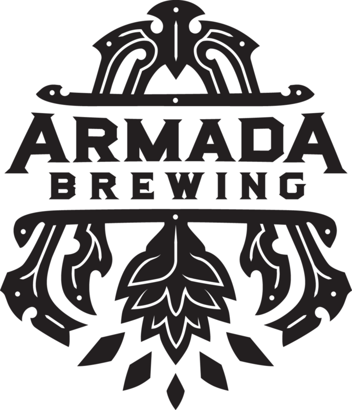 Armada Brewing Neptune's Dagger beer Label Full Size