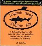 Dogfish Head Punkin Ale 2017 Beer