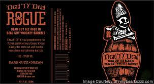Rogue Dead N Dead beer Label Full Size