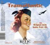 Relic Transatlantic IPA Beer