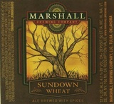Marshall Sundown Wheat Beer