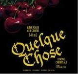 Unibroue Quelque Chose 2004 beer