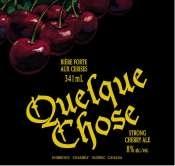 Unibroue Quelque Chose 2004 beer Label Full Size