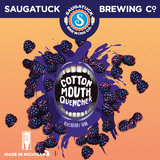 Saugatuck Cotton Mouth Quencher Blackberry beer
