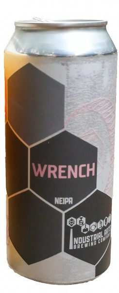 Industrial Arts Wrench beer Label Full Size