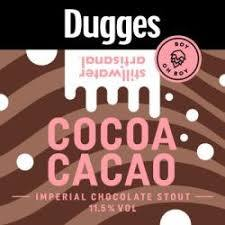 Dugges / Stillwater Cocoa Cacao beer Label Full Size