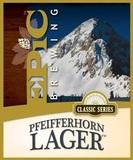 Epic Pfeifferhorn Lager beer