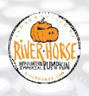 River Horse Hipp-O-Lantern 2011 beer Label Full Size