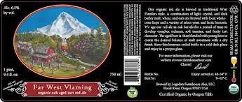 Logsdon Far West Vlaming beer Label Full Size