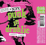 Stone Punk in Drublic beer
