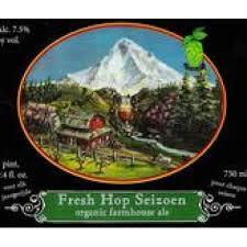 Logsdon Fresh Hop Seizoen beer Label Full Size