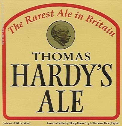 Thomas Hardy's Ale 2017 beer Label Full Size