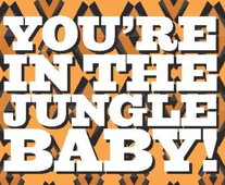 Evil Twin & Jackie O's You're In The Jungle Baby! beer Label Full Size