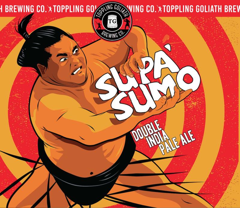 Toppling Goliath Supa' Sumo Beer