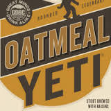 Great Divide Oatmeal Yeti 2017 Beer
