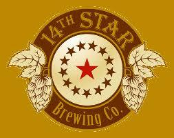14th Star Oktoberfest beer Label Full Size