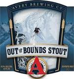 Avery Out Of Bounds Stout beer