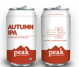Peak Organic Autumn IPA beer
